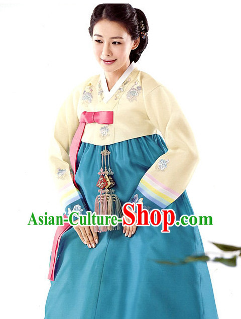 Top Korean Traditional Clothes Hanbok National Costume