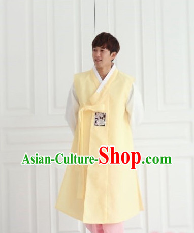Korean Bridegroom Long Robe for Men