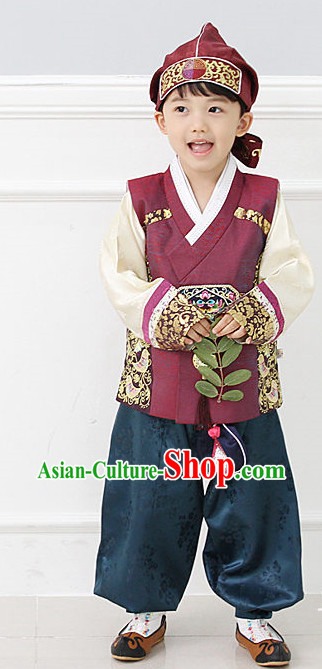 Top Korean National Costumes Boys Fashion Traditional Korean Clothing