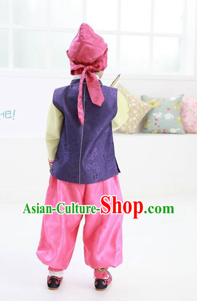 Top Traditional Korean Kids Fashion Kids Apparel Baby Clothes for Boys