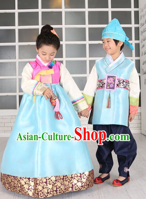 Top Traditional Korean Kids Fashion Kids Apparel Boys and Girls Clothing