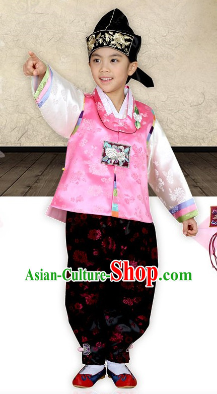 Top Traditional Korean Kids Fashion Kids Apparel Birthday Baby Clothes Boys Clothes Baby Clothing