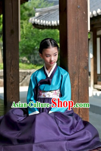 Korean Traditional Hanbok Clothing Dress online Female Clothes Designer Clothes