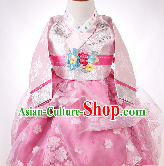 Korean Traditional Hanbok Clothing Dress online Kids Clothes Designer Clothes