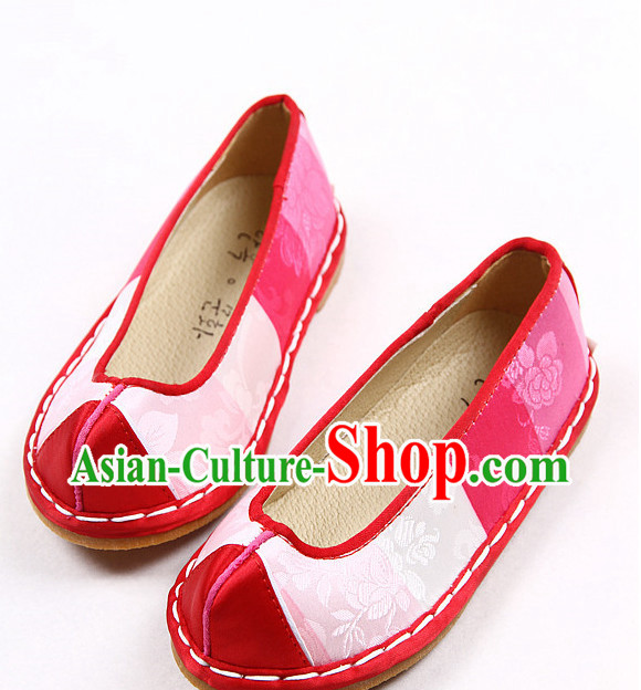 Korean Traditional Birthday Hanbok Shoes for Boys