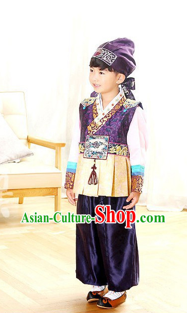 Korean Traditional Hanbok Clothing Dresses Kids Fashion Korean Childrens Clothes