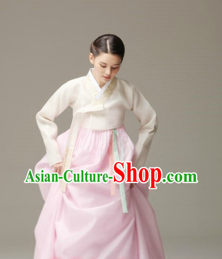 Korean Traditional Hanbok Female Clothes
