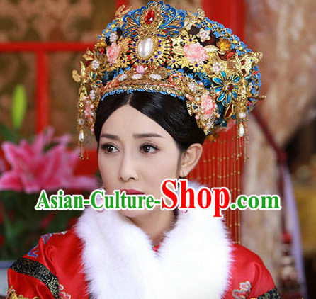 China Ancient Empress Handmade Imperial Royal Hat