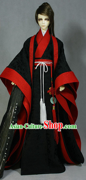 Chinese Traditional Clothing Complete Set for Men