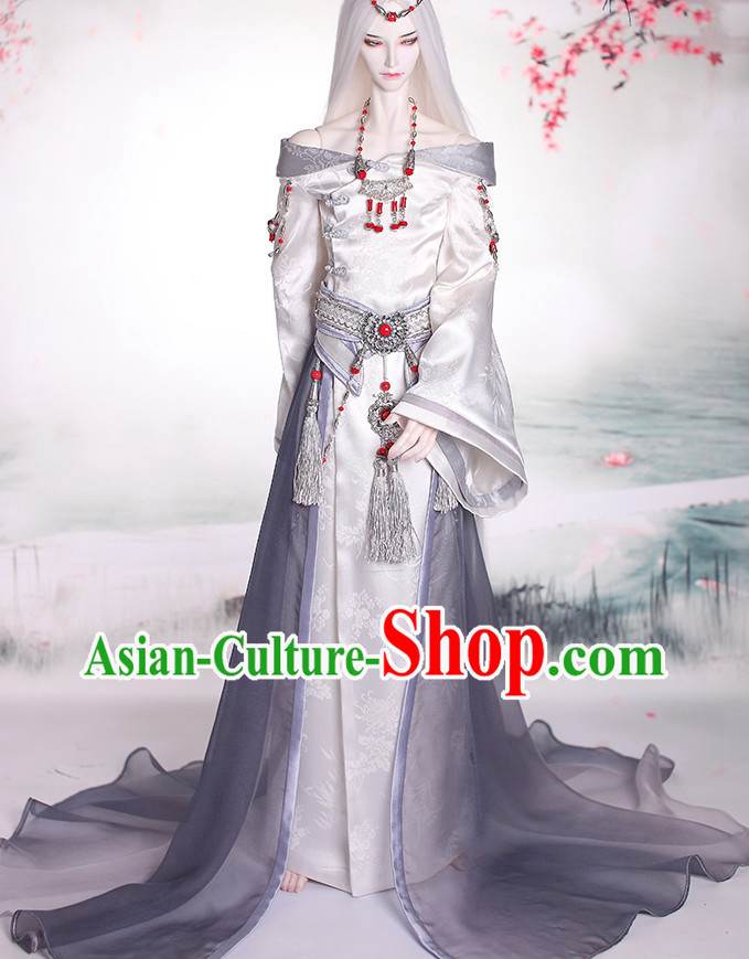 Chinese Empress Costumes and Hair Ornaments Top China Fashion Halloween Asia Fashion