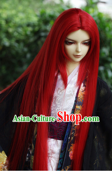 Chinese Traditional Long Wig Updo Wigs Lace Front Wigs Geisha Wig Chinese Wigs