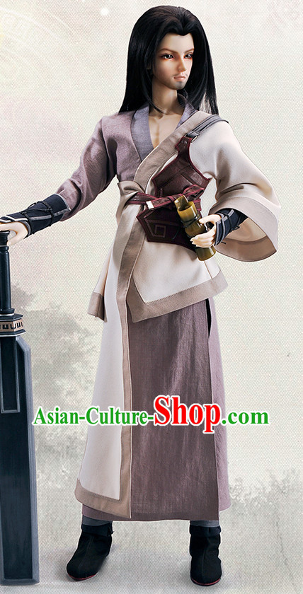 Chinese National Costumes for Men