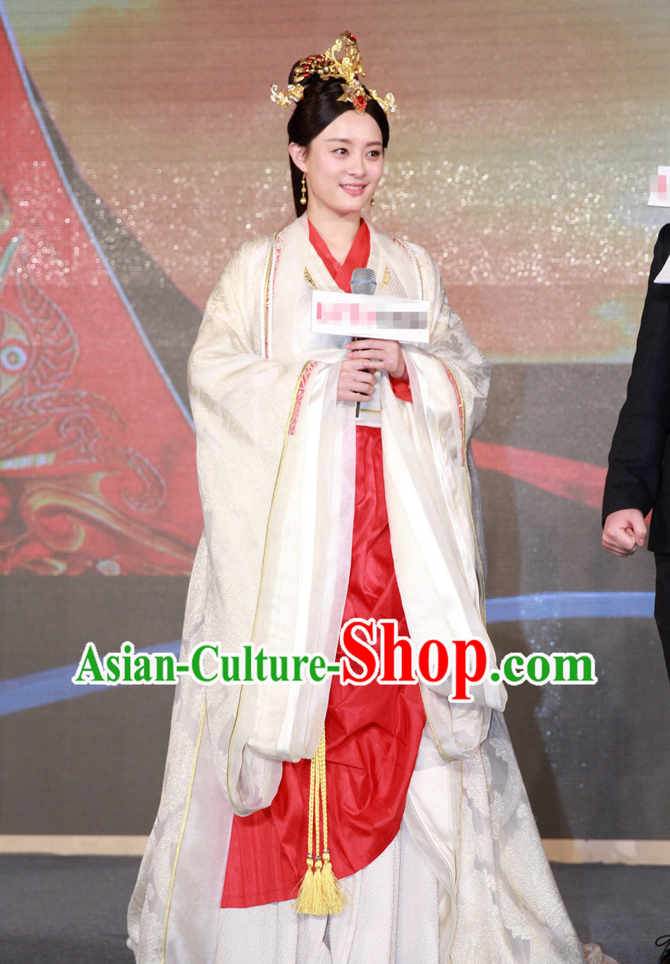 Chinese Traditional Empress Costumes Hanfu Dresses Asian Fashion