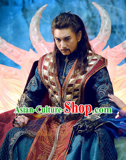 Top Chinese Traditional Swordmen Halloween Costumes Asian Fashion