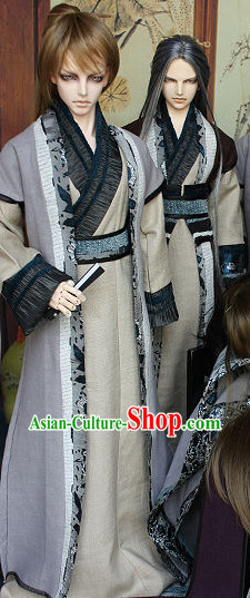 Asian Fashion Chinese Traditional Swordsmen Costumes
