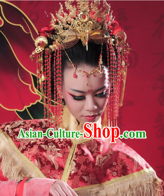 Chinese Empress Hair Jewelry for Adults