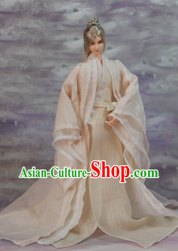 Asian Fashion Chinese Traditional Hanfu Suit for Men