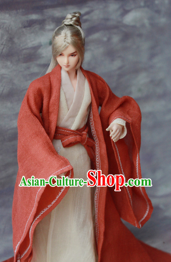 Asian Fashion Chinese Traditional Hanfu Suits for Men
