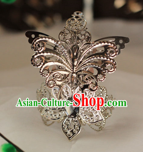 Chinese Traditional Butterfly Coronet