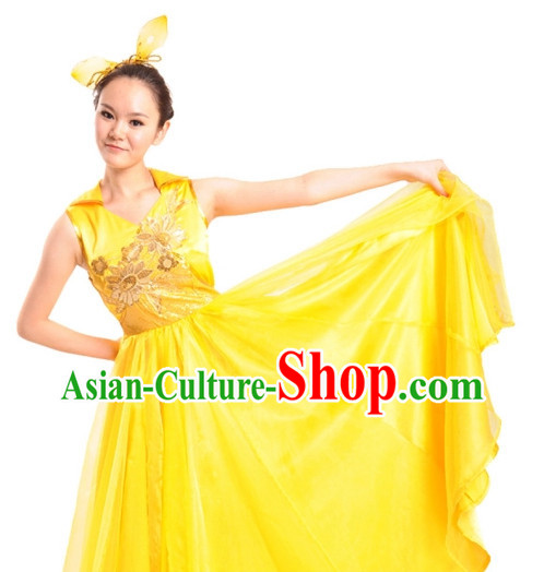 China Shop Chinese Dance Costumes Complete Set for Women