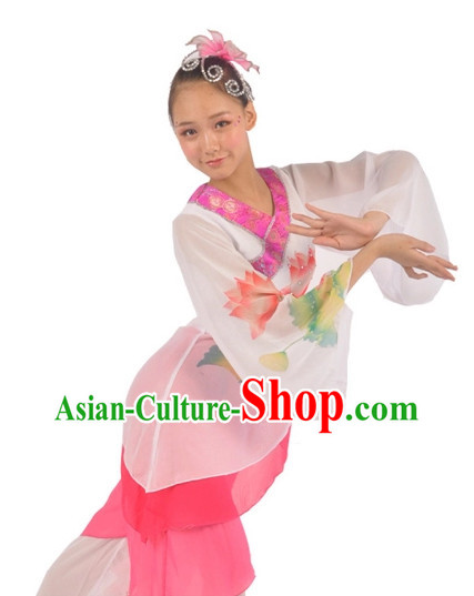 China Shop Chinese Classic Group Dance Costumes Girls Dancewear for Women