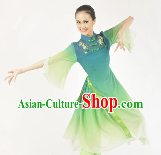Custom Made Chinese Classical Dance Costumes Ballerina Costume Burlesque Costumes Salsa Costumes