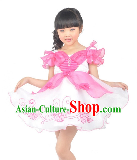 Custom Made Chinese Kids Team Dance Costumes