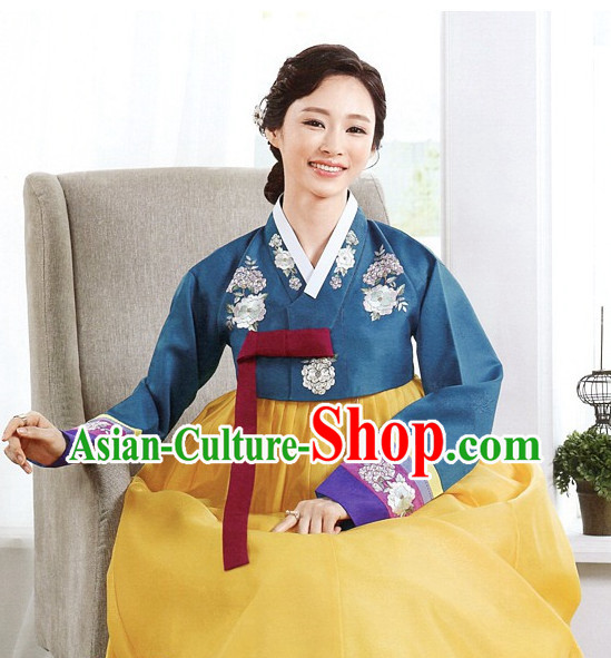 Korean Traditional Mother of the Groom Dresses