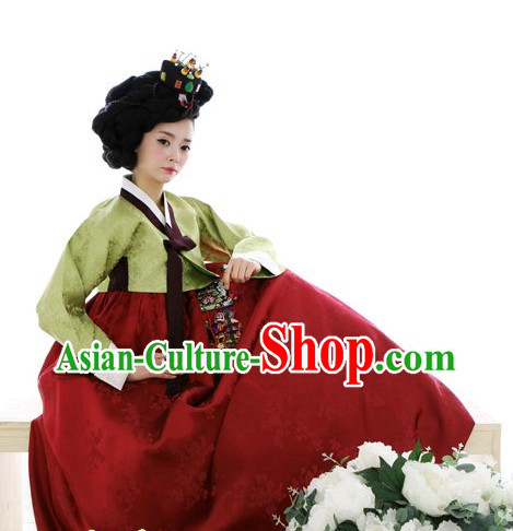 Korean Traditional Hanbok Clothing for Women