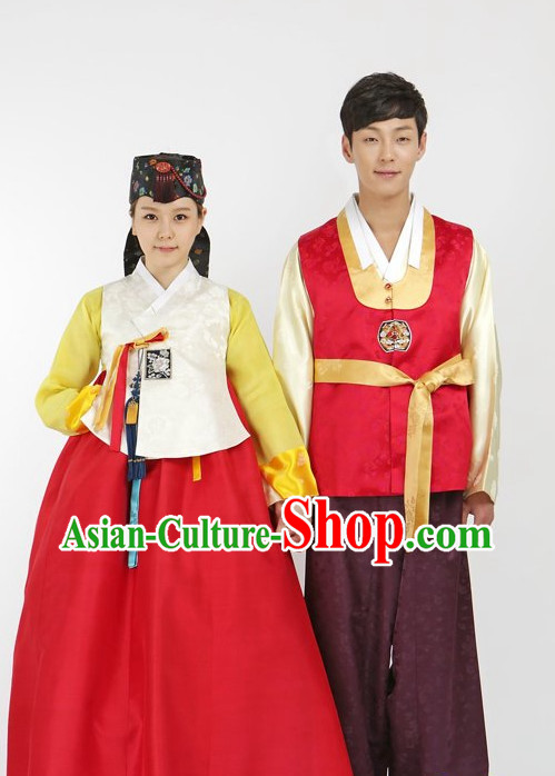 Top South Korean Hanbok Korean Apparel Hanbok Pattern Wedding Dresses Complete Set