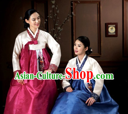 Top South Korean Hanbok Clothes Complete Set