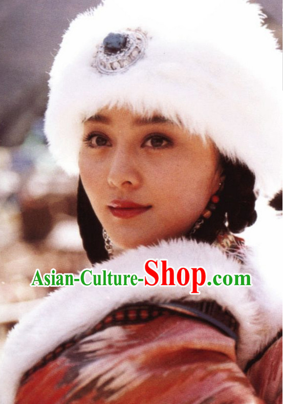 China Tibetan Princess Hat