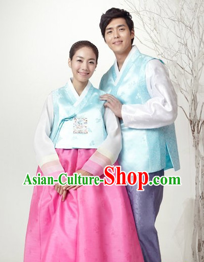 Korean Couple Hanbok Dresses
