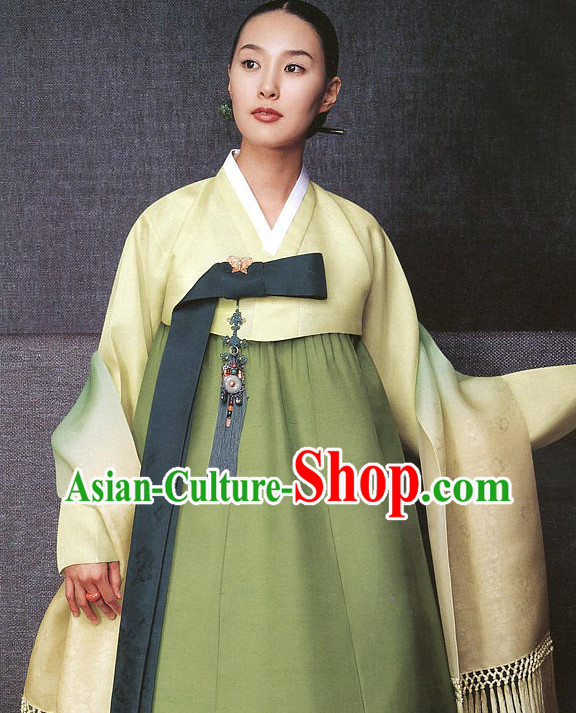 Top Korean Traditional Female Hanbok National Costume Complete Set