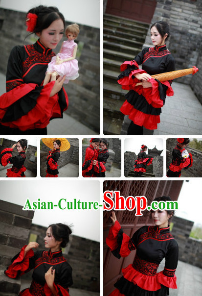 Chinese Costumes Traditional Clothing China Shop Asian Fashion Beauty Cosplay Halloween Costumes