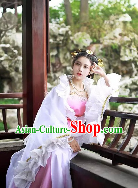 Asian Fashion Chinese Princess Halloween Costumes for Women