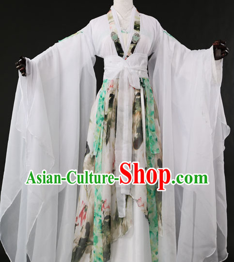 Chinese Romantic Hanfu Costumes Halloween Costumes for Women