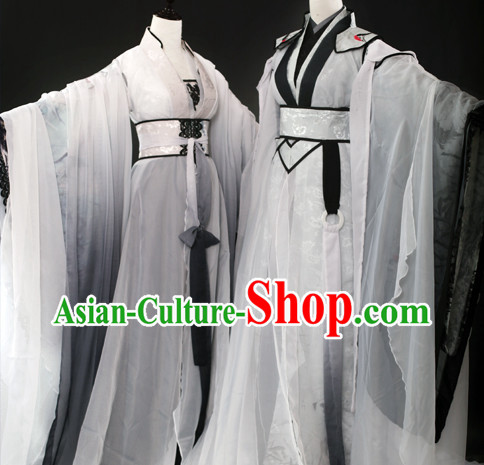 Chinese Classical Teacher Costumes 2 Sets