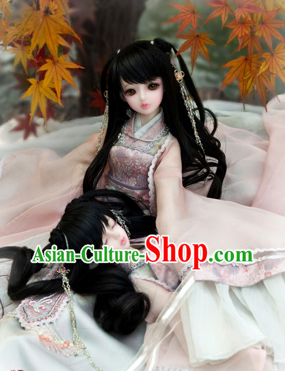 Chinese Costumes Asia fashion China Civilization Traditional Clothing Halloween Costumes for Girls