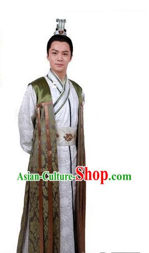 Chinese Tang Dynasty Emperor Costume Asia fashion China Civilization for Men