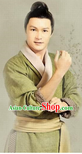 Chinese Civilian Hanfu Clothing Asia fashion China Civilization for Men