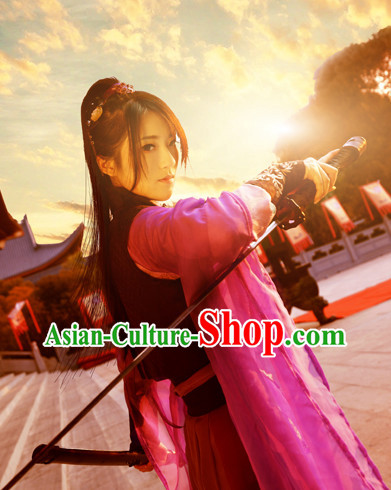 Chinese Warrior Costume Asian Fashion China Civilization Medieval Costumes Carnival Costume