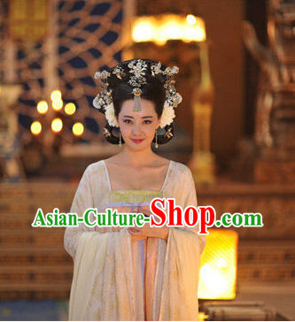 Chinese Traditional Princess Hair Accessories and Jewelry