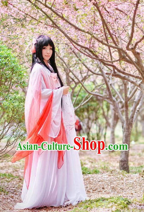 Chinese Ancient Legend Flower Fairy Costumes for Women