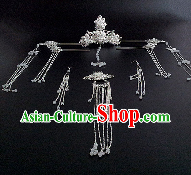 Chinese Traditional Empress Hair Jewelry Set