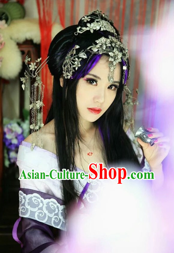 Chinese Traditional Princess Hair Accessories Hair Jewelry Set