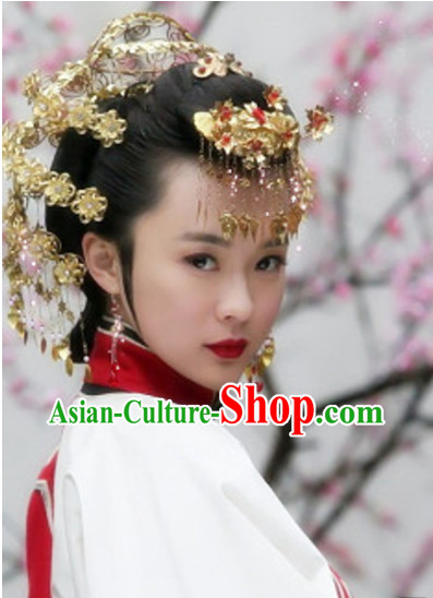 Chinese Traditional Bridal Wedding Hair Accessories