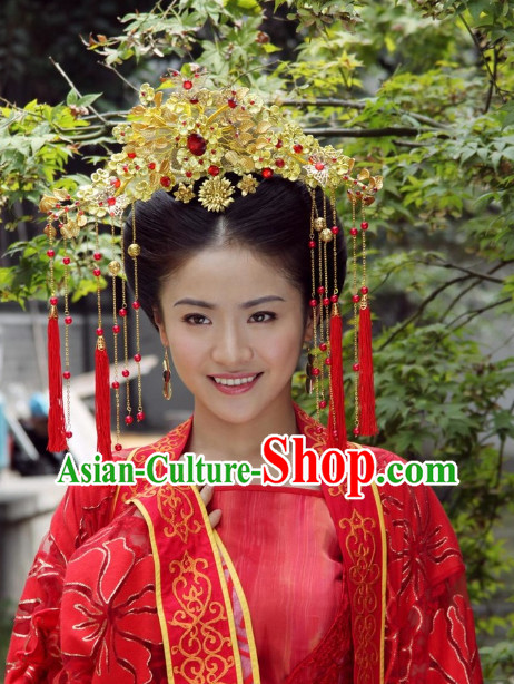Chinese Traditional Phoenix Coronet Hair Accessories Jewelry
