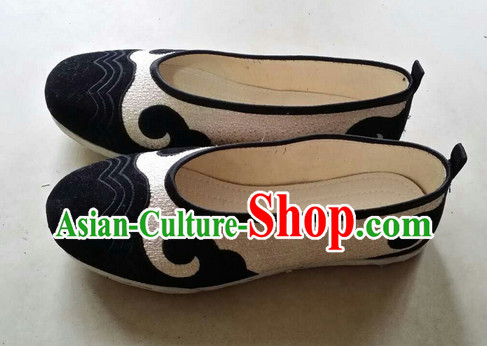 Handmade Asian Chinese Traditional Shoes Fabric Shoes online Comfortable Shoes