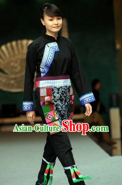 Oriental Clothing Chinese Traditional Ethnic Plus Size Clothing of China
